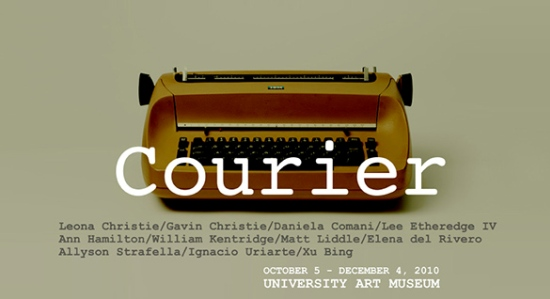 Courier: what a typewriter uses