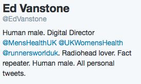 Ed Vanstone Twitter